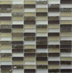 Мозаика Bonаparte Glamour-2 бежевая глянцевая 30x30