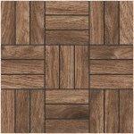 Мозаика Kerranova Forest структурированный коричневый 30x30