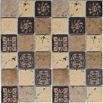 Мозаика Bonаparte Mystery коричневая матовая 30.4х30.4