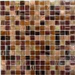 Мозаика Bonаparte Savanna коричневая глянцевая 32.7х32.7