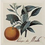 Декор Monopole Ceramica Decor Provence Orange De Malte серый 20х20